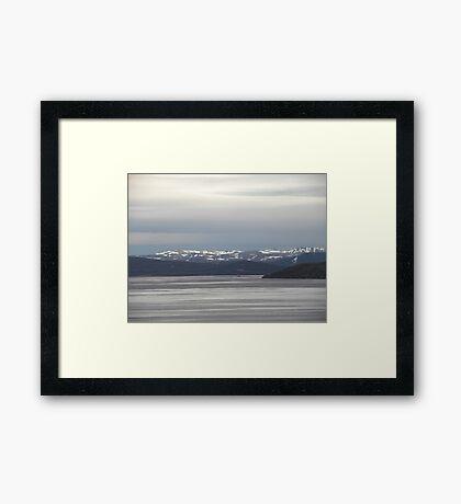 Arctic Peace. Framed Print