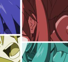 neon genesis evangelion asuka soryu anime manga shirt Sticker