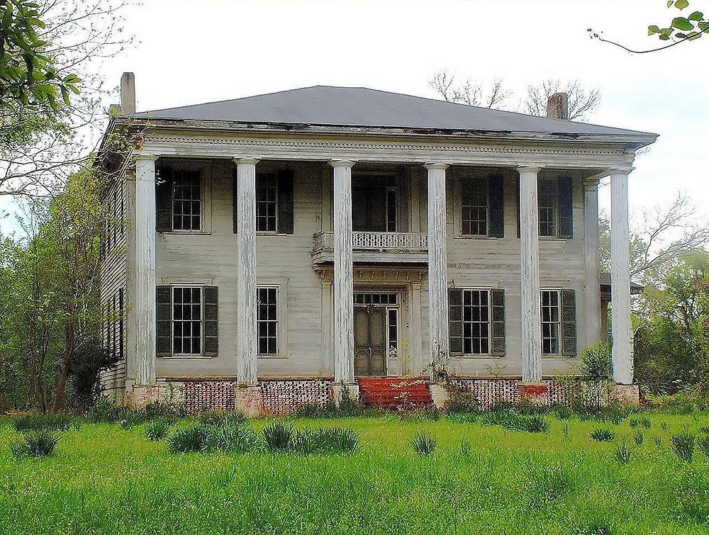 Old Plantation Home by RickDavis