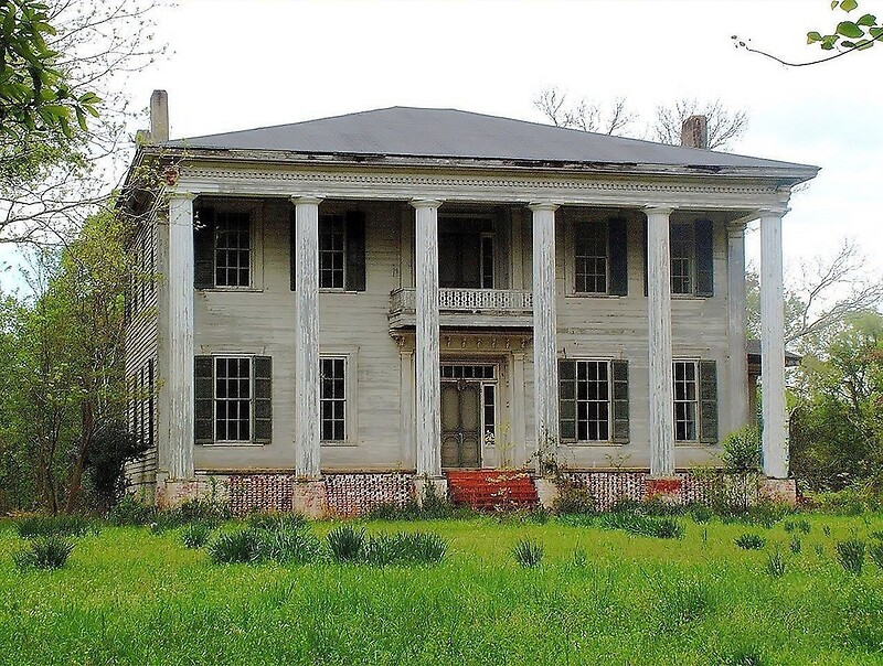 Old Plantation Home By Rickdavis Redbubble