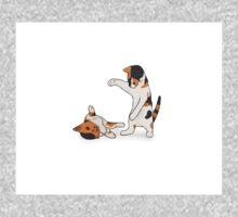 Playful Kittens One Piece - Short Sleeve