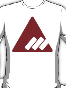 Destiny - New Monarchy - Red on White T-Shirt