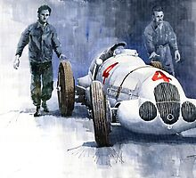 MB W125 GPcar 1937 by Yuriy Shevchuk