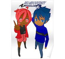 Dillard University- Anime Club (Black) Poster