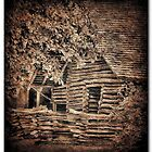 Old Log Barn by RickDavis