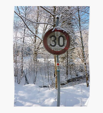 30 km/hrs Poster