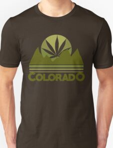 Colorado Marijuana humor T-Shirt