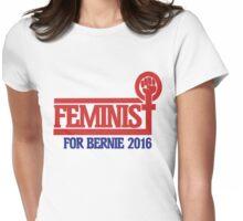 Feminist for bernie sanders 2016 Womens Fitted T-Shirt