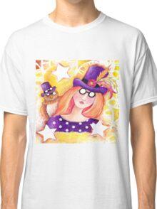 Steampunk Girl Classic T-Shirt