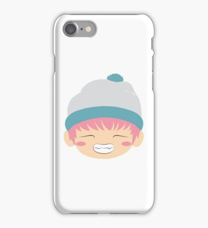 Pink haired TaeTae iPhone Case/Skin