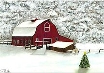 Wisconsin Christmas by Dan Wagner