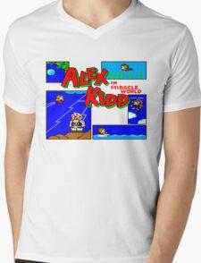 Alex kid in miricale world Mens V-Neck T-Shirt
