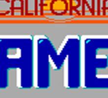 California Games Sticker