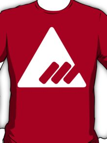 Destiny -  New Monarchy - White on Red T-Shirt