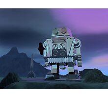 A Robot Moon Walker Photographic Print
