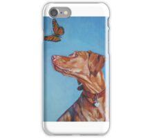 Vizsla Fine Art Painting iPhone Case/Skin