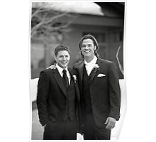 Jared and Jensen Tuxedo Poster