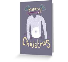 Merry Christmas Jumper Greeting Card
