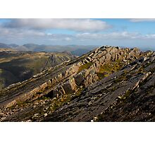 bow fell the great slab Photographic Print