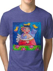 Hola! Lovebirds Tri-blend T-Shirt