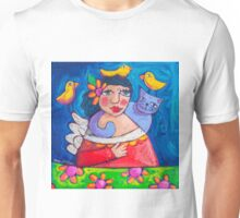 Hola! Lovebirds Unisex T-Shirt