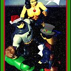 Super Hero Christmas card by AngieBanta
