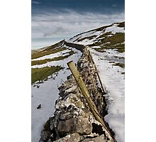 Buckden Boundary Photographic Print