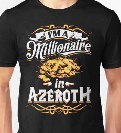 Millionaire in Azeroth Unisex T-Shirt