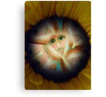 Power Flower Power Canvas Print