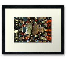 Squadron Spiral Framed Print
