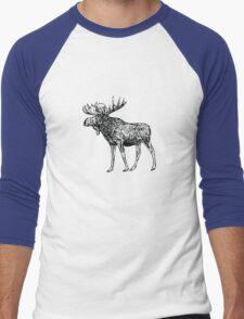 Kansas City Royals Moose Men's Baseball ¾ T-Shirt