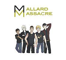Mallard Massacre Band Merch Photographic Print