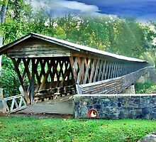 Clarkson Covered Bridge by RickDavis