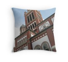 Toil the Bells - Lafayette, LA Throw Pillow