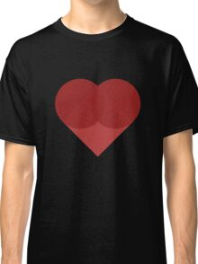 All You Need Is Art - love heart valentine fun cute romance Classic T-Shirt
