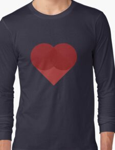 All You Need Is Art - love heart valentine fun cute romance Long Sleeve T-Shirt