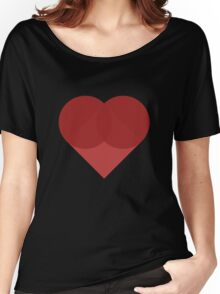All You Need Is Art - love heart valentine fun cute romance Women's Relaxed Fit T-Shirt