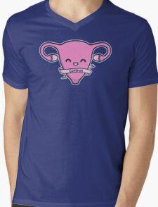 Cuterus Mens V-Neck T-Shirt