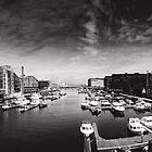 Trondheim b&w by Dominika Aniola