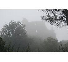 Castle in the Mist-Lazio, Italy Photographic Print