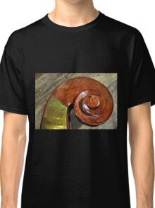 Scroll of Double Bass Classic T-Shirt