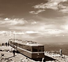 The Last Stop (Sepia) by Cleber Photography Design