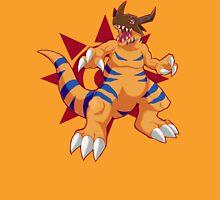 Mighty Greymon + crest of courage Unisex T-Shirt