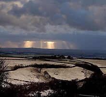 Winter Landscape No1 by Andrew  Bailey