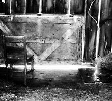 Forgotten Chair  by Allaina Morton-Cruise