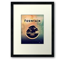The Fountain Movie Framed Print