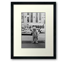 Elmo Framed Print