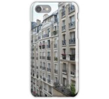 Buildings in the Montmartre area of Paris iPhone Case/Skin