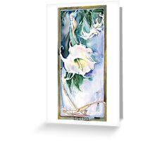 Datura Greeting Card