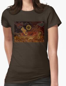 Desert Heat  Womens Fitted T-Shirt